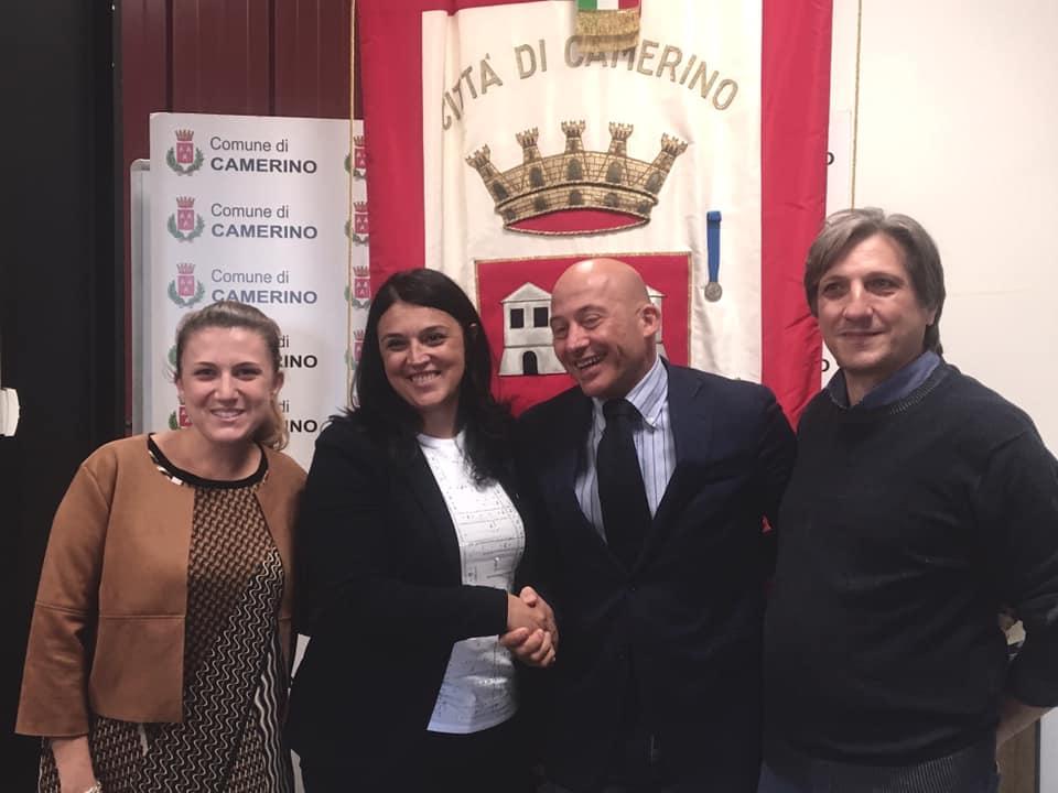 Accademia della Musica, la firma della convenzione tra Comune di Camerino e ABF (1)