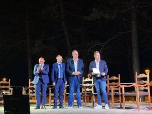 Alex Armillotta ritira il Premio Maria Grazia Capulli