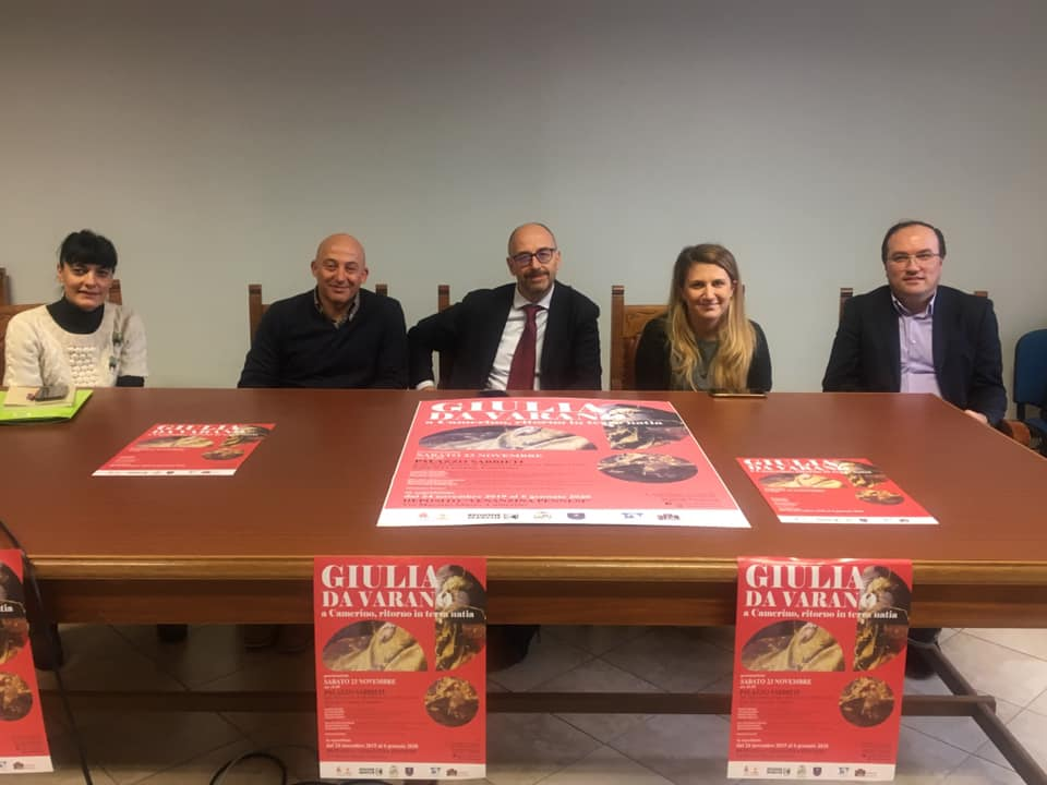 Barbara Mastrocola, Sandro Sborgia, Claudio Pettinari, Giovanna Sartori e Daniele Salvi