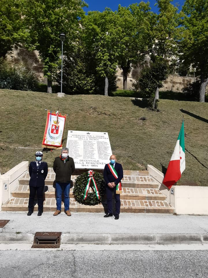 Celebrazione 75esimo anniversario Festa Liberazione