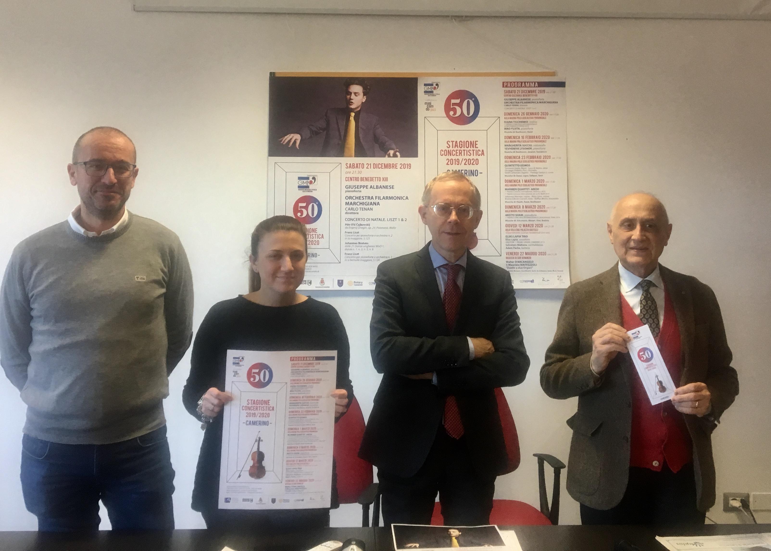 Daniele Massimi, Giovanna Sartori, Francesco Rosati, Corrado Zucconi