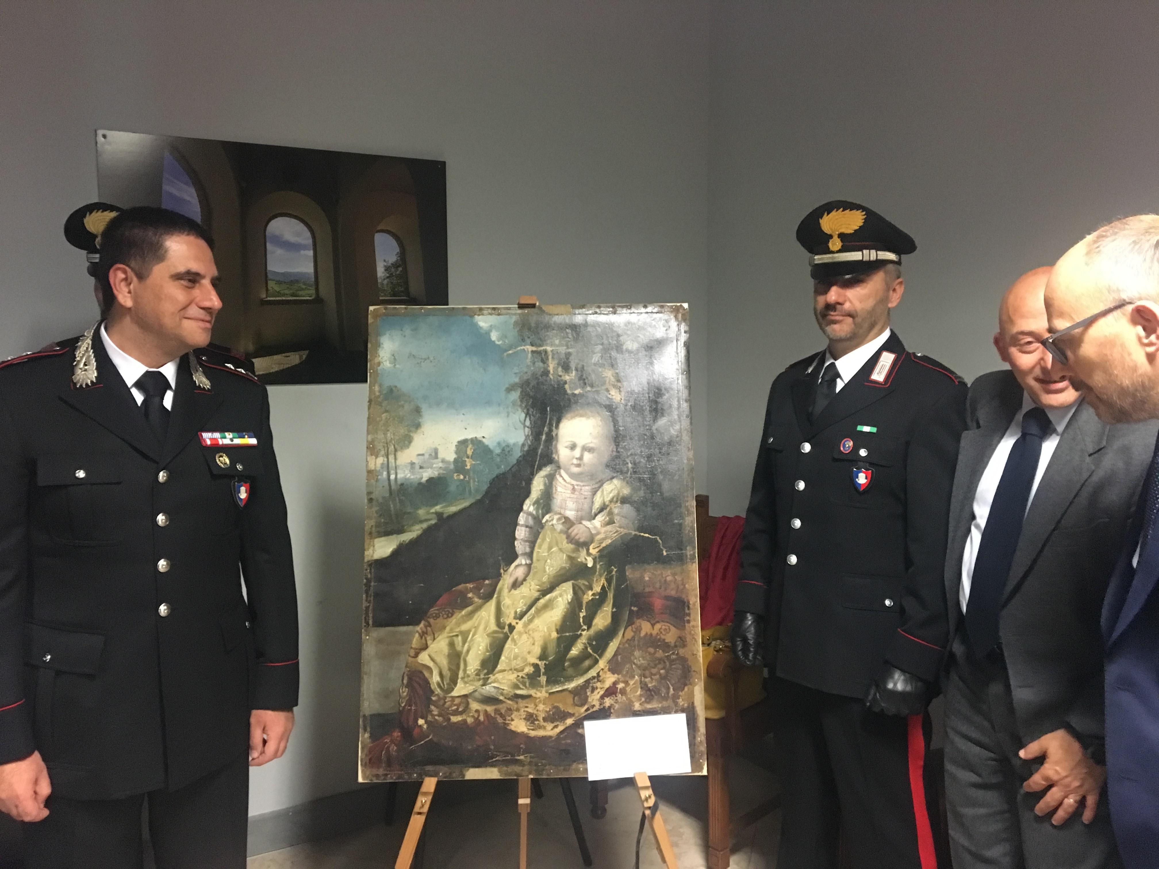 Il quadro del Dosso Dossi Giulia Da Varano torna a Camerino (1)