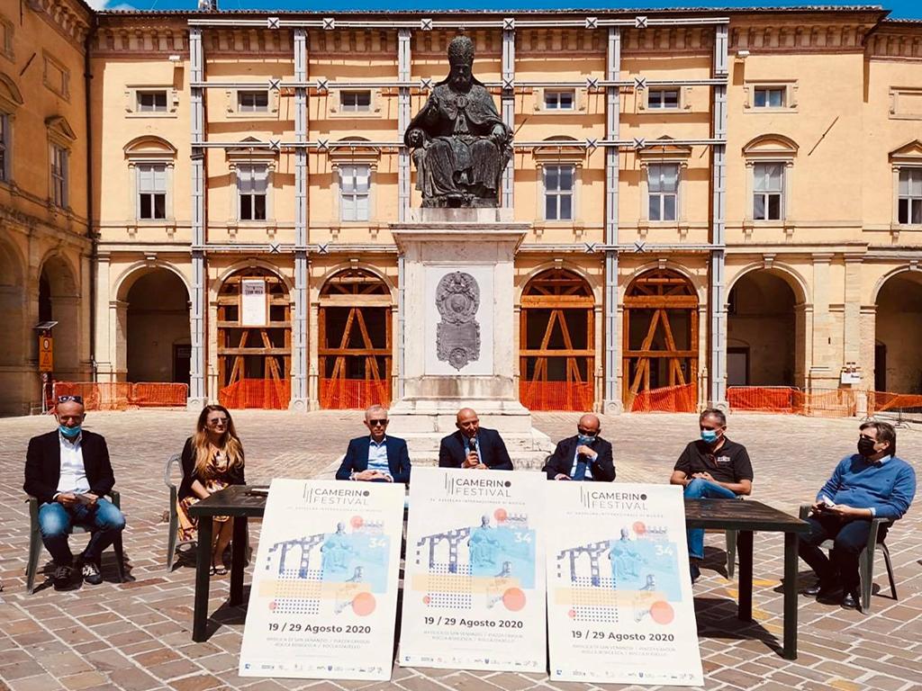 La conf stampa di presentazione del Camerino Festivalok