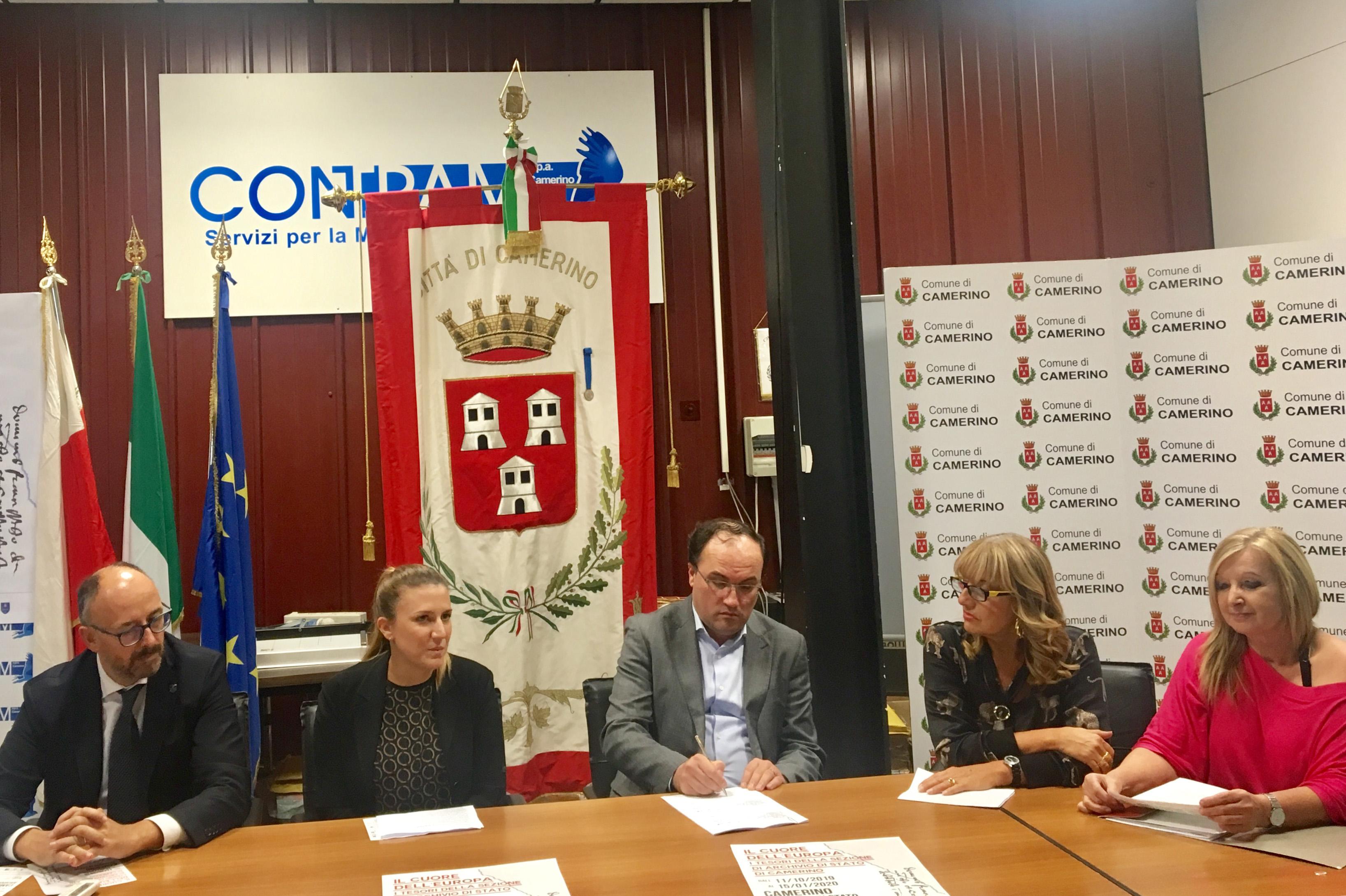 La conferenza stampa di presentazione della mostrabis