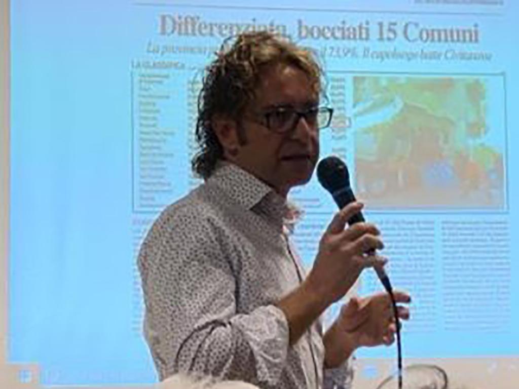 L'assessore ai lavori pubblici Marco Fanelli