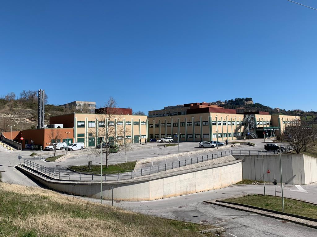 L'ospedale di Camerino