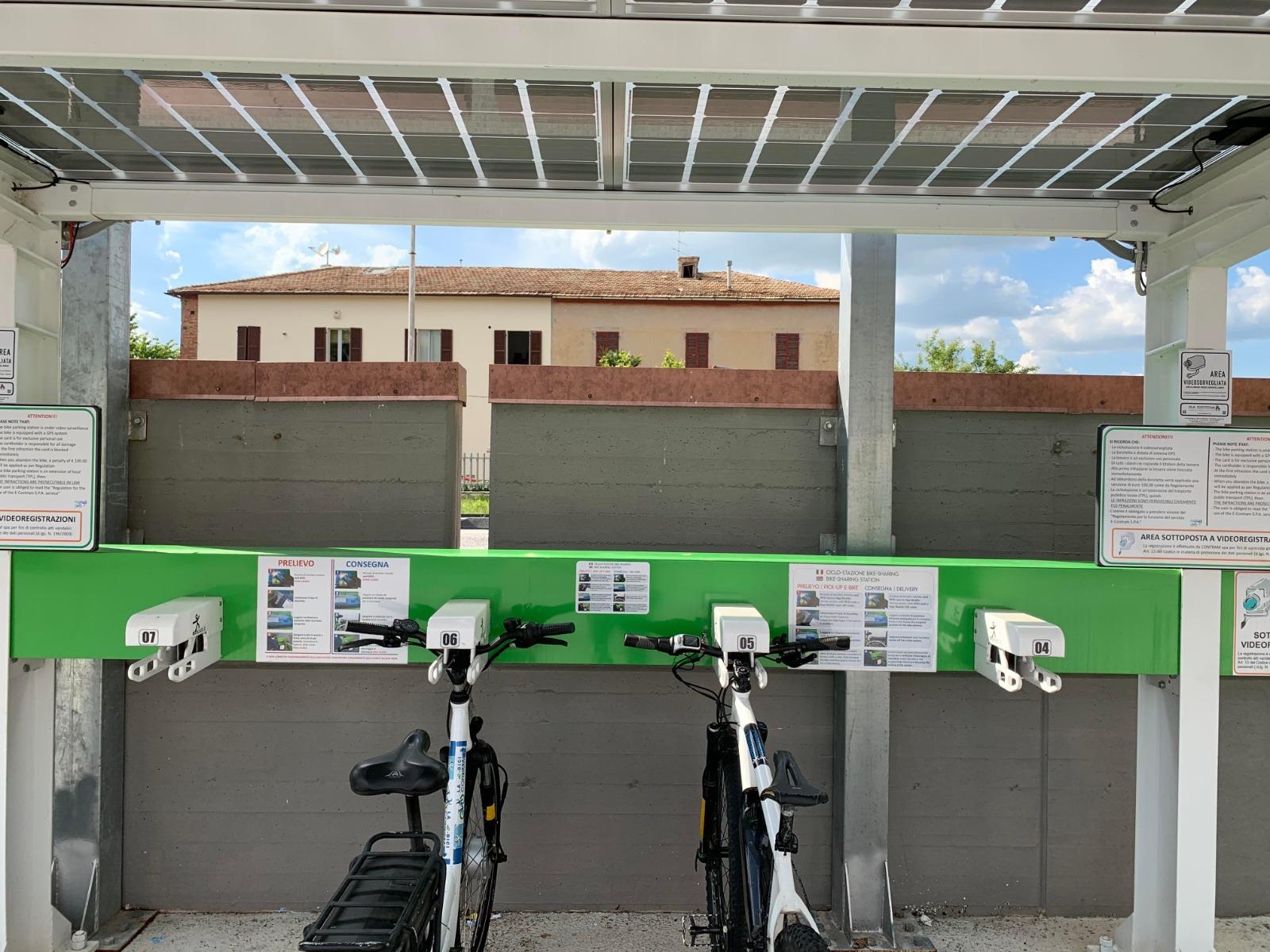 Nuova stazione bici elettriche