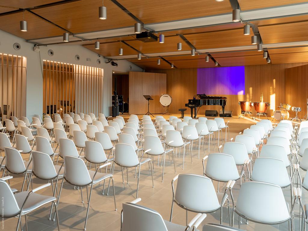 auditorium Accademia della musica Franco Corelli ok